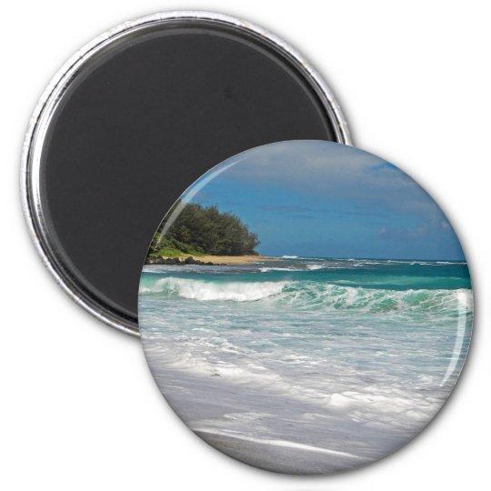 Foamy Surf 6 Cm Round Magnet