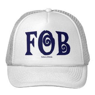 FOB Father of Bride Cap Blue Mesh Hats