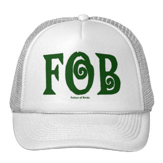 FOB (Father of Bride) Cap Green Hat