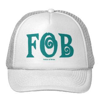 FOB Father of Bride Cap T Blue Hat