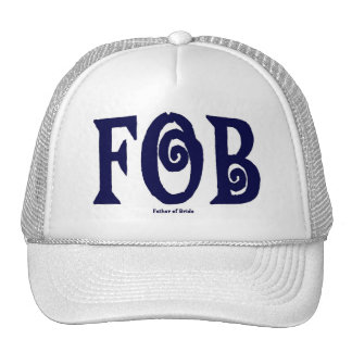 FOB (Father of Bride) Cap Trucker Hat