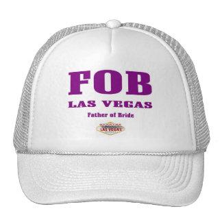 FOB (Father of Bride) Las Vegas Cap Hat