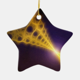 Focal Point 1 Double-Sided Star Ceramic Christmas Ornament