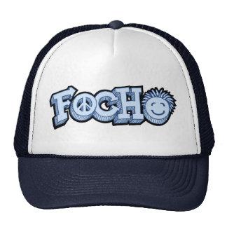 Focho Tag Blue Trucker Hat