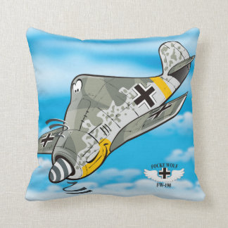 Focke wulf fw-190 cushion