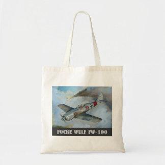 Focke Wulf FW-190 Tote Bags