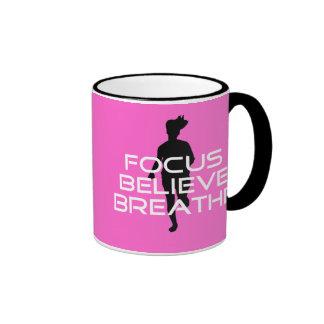 Focu Believe Breathe Coffee Mugs