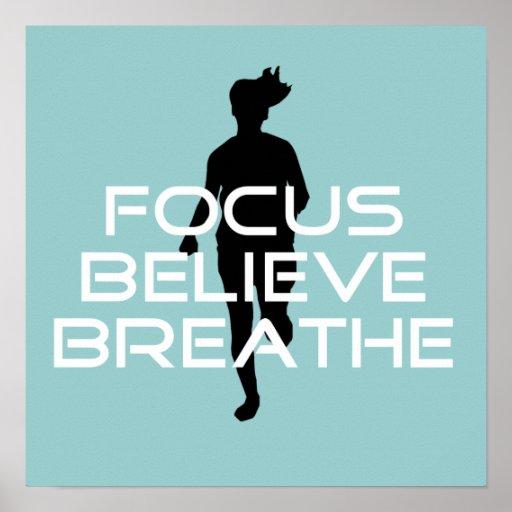 Focu Believe Breathe Poster