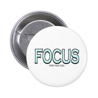 Focus 6 Cm Round Badge