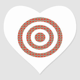 FOCUS Bull s EYE Artistic Golden Dot GIFTS ALL Stickers