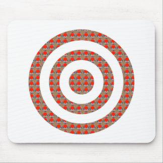 FOCUS Bull's EYE:  Artistic Golden Dot GIFTS ALL Mousepads