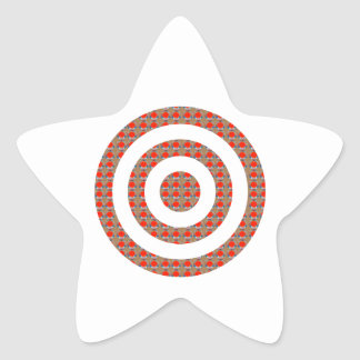 FOCUS Bull's EYE:  Artistic Golden Dot GIFTS ALL Star Sticker