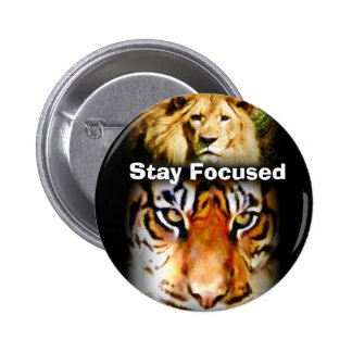 Focus & Courage_ Pinback Buttons