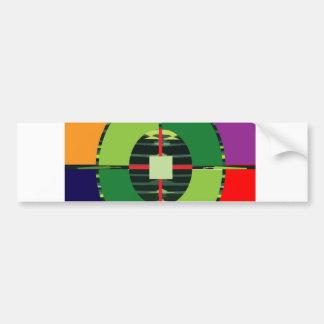 FOCUS Green Target EARTH  Global Warming NVN255 Bumper Stickers