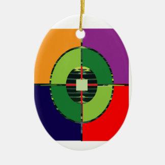 FOCUS Green Target EARTH  Global Warming NVN255 Ornament