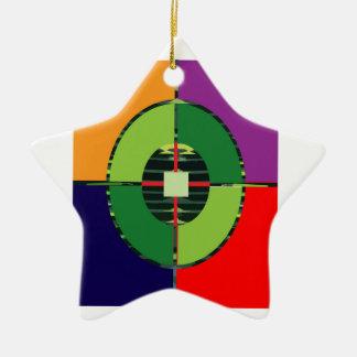 FOCUS Green Target EARTH  Global Warming NVN255 Christmas Ornament