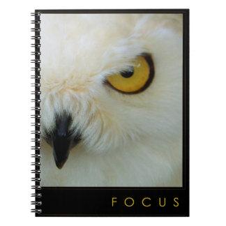 FOCUS Notebook Journal whatever-book Owl