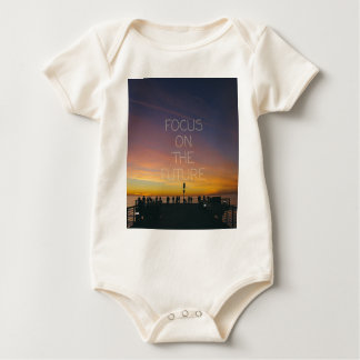 focus on the future baby bodysuit
