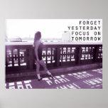 Focus on Tomorrow Ceili Moore Irish Dance Poster