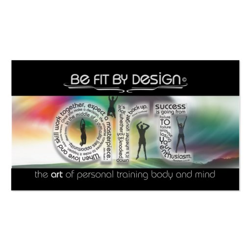 Focus On Your Goal Business Cards