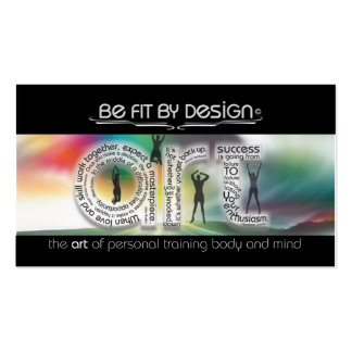 Focus On Your Goal Pack Of Standard Business Cards