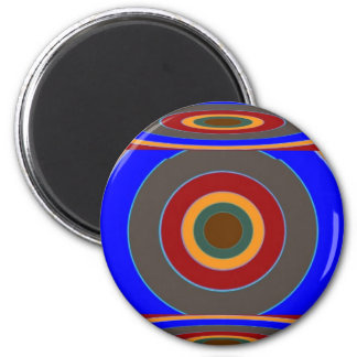 FOCUS on your TARGET : Add some text image 6 Cm Round Magnet