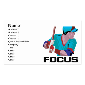 Focus Pack Of Standard Business Cards