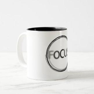 Focus Pre-made Logo Creative Design Two-Tone Coffee Mug