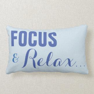 focus relax lumbar cushion