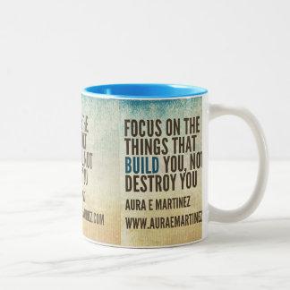 Focus! Two-Tone Coffee Mug
