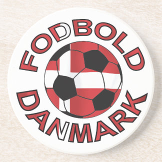 Fodbold Danmark Football Denmark Coaster