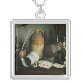 Foes in the Guise of Friends Silver Plated Necklace
