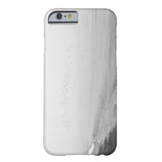 Fog and rain setting in along the shoreline barely there iPhone 6 case