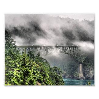 Fog Bridge One Photo Art