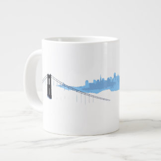 Fog City (San Francisco) Mug Jumbo Mug
