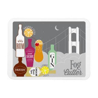 Fog Cutter Tropical Cocktail Magnet