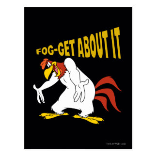Fog-Get About It Postcard