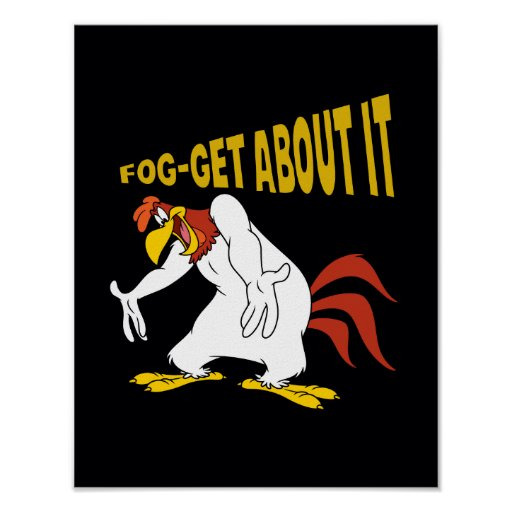 Fog-Get About It Print