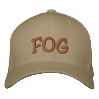 FOG  Hat Embroidered Hat