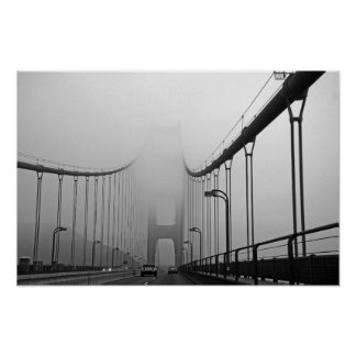 Fog In San Francisco Poster