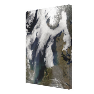 Fog in the North Sea Canvas Print