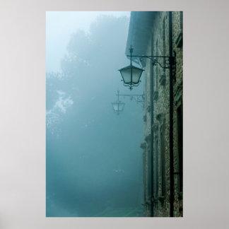 Fog Lamp Poster