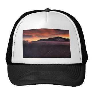 Fog Layer on Mountain Hat