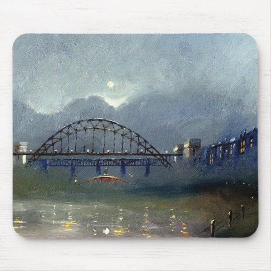 Fog On The Tyne Mouse Pad