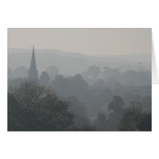 Fog over Masham Card