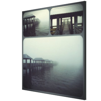 """Fog Rolling In"" Landscape Canvas Print"