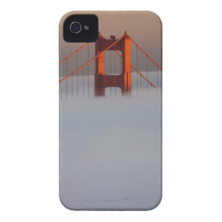 Fog rolls through the San Francisco bay covering 2 Blackberry Bold Cases