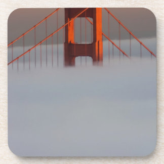 Fog rolls through the San Francisco bay covering 2 Coaster