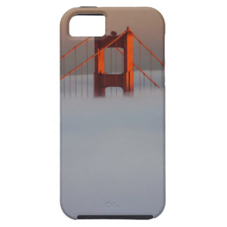Fog rolls through the San Francisco bay covering 2 iPhone 5 Covers