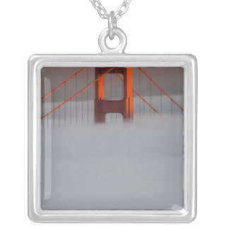 Fog rolls through the San Francisco bay covering 2 Custom Jewelry